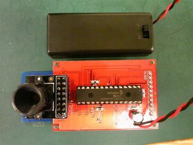 OV7670側試作基板