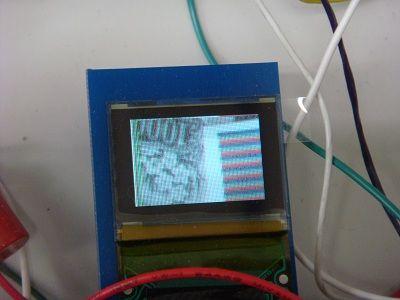 OV7670の映像をOLEDに表示