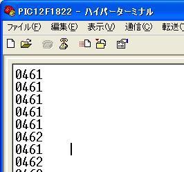PIC12F1822のAD変換を使ってみる