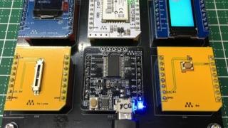 mikroBUSを6機搭載した時の例