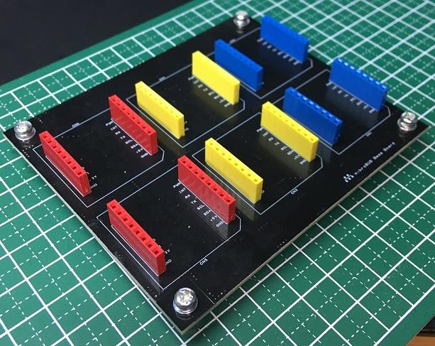 mikroBUS6機搭載可能なソケット基板