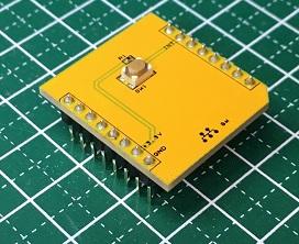 超小型タクトスイッチを搭載したボード